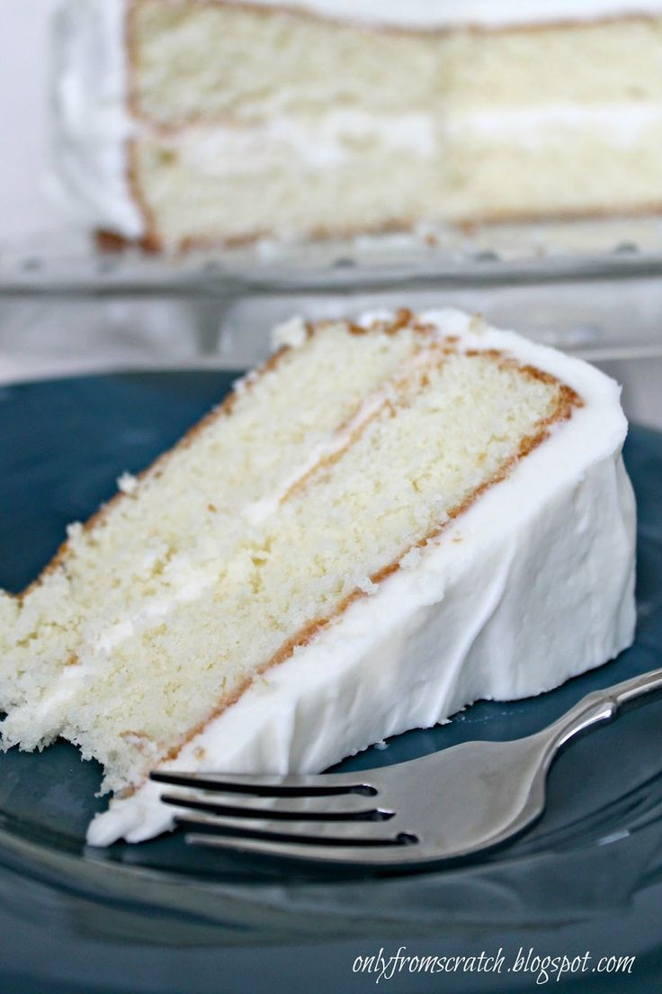 Easy White Cake Recipe  25 Best Ideas about White Cake Recipes on Pinterest