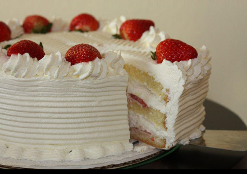 Easy White Cake Recipe  Homemade Simple White Vanilla Cake
