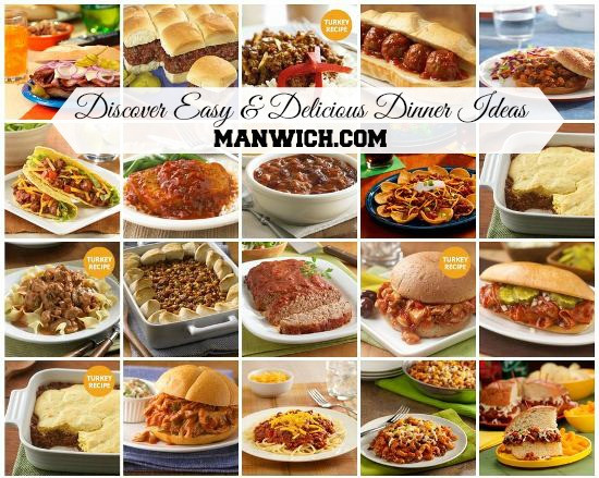 Easy Yummy Dinners  Dinner Ideas with Manwich Archives In The Kitchen With KP