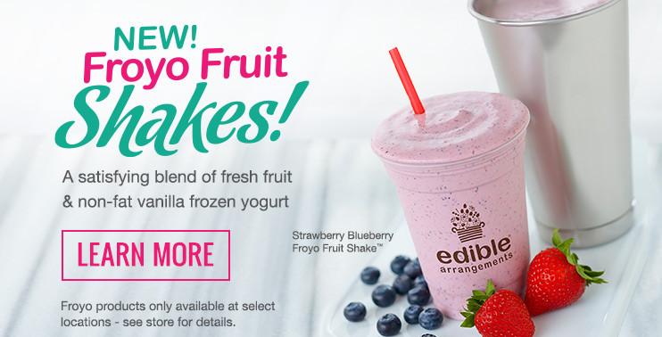 Edible Arrangements Smoothies  Fresh Fruit Smoothies and Treats Edible To Go Menu