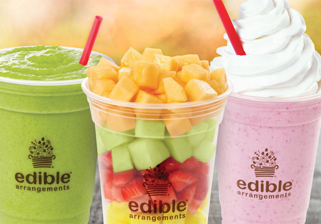 Edible Arrangements Smoothies  $0 99 Smoothies Shakes & Fruit Salads at Edible