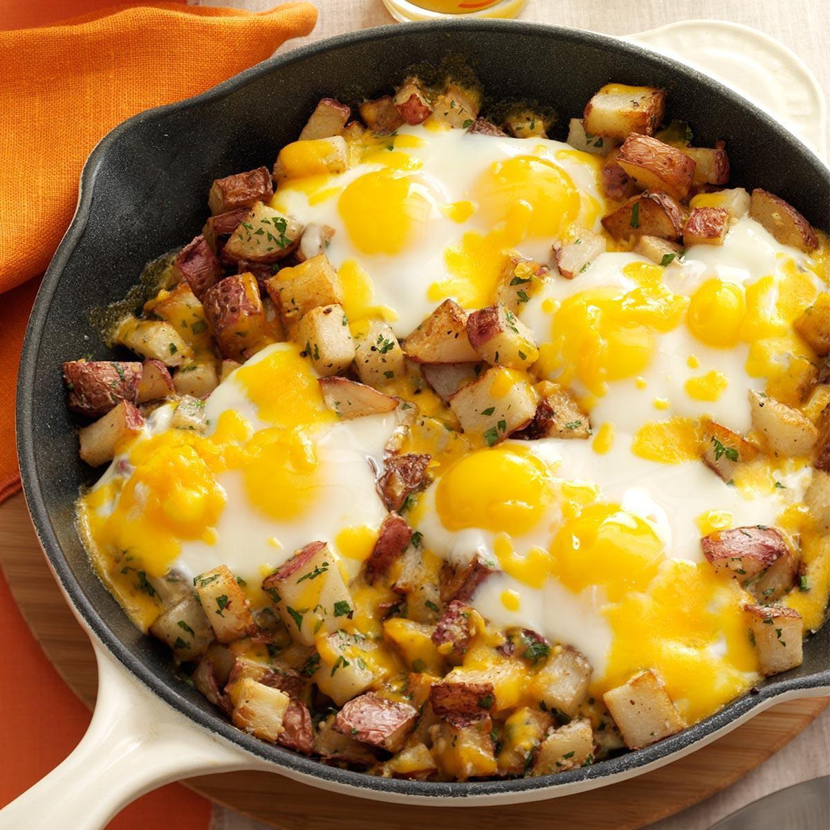 Egg Breakfast Recipes  egg and potato breakfast recipes