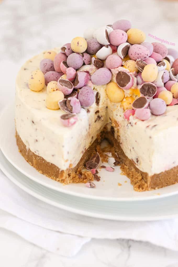 Egg Desserts Recipe  No Bake Mini Egg Cheesecake Recipe Taming Twins