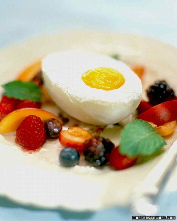 Egg Desserts Recipe  Easter Dessert Recipes Pinterest