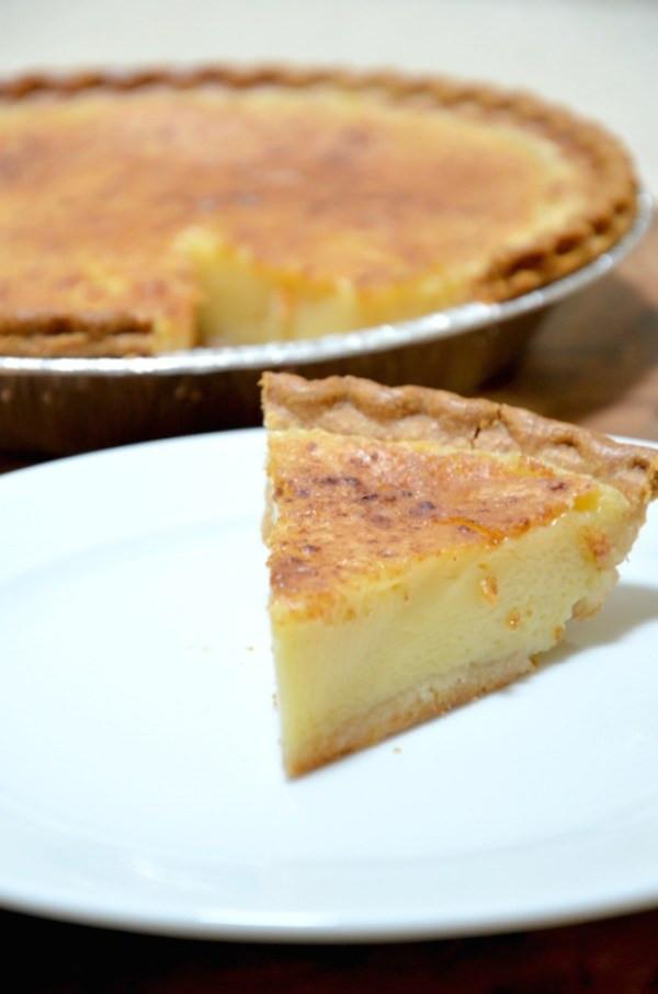 Egg Desserts Recipe  Momma s Egg Custard Pie JessicaNWood