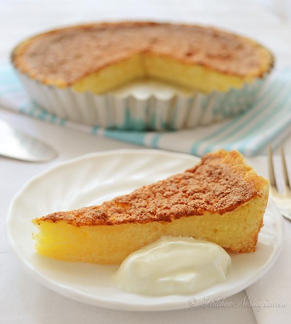 Egg Desserts Recipe  Filipino Egg Pie