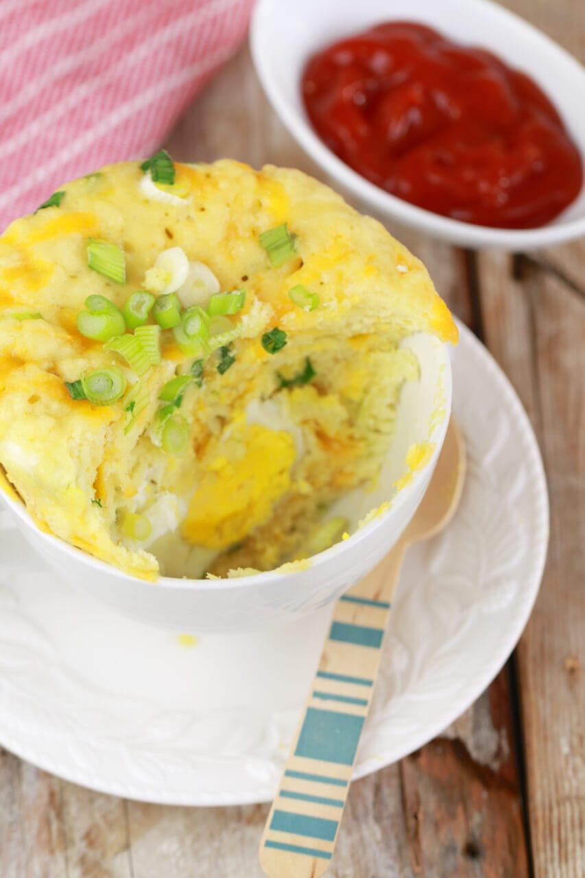 Egg Dinner Recipes  Microwave Egg MugMuffin Microwave Mug Meals Gemma's
