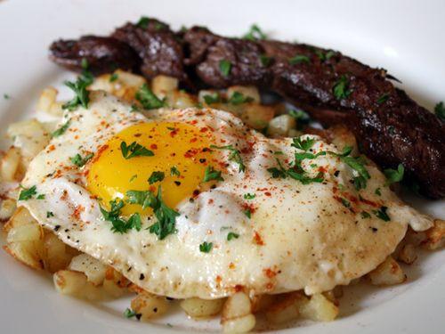 Egg Dinner Recipes  25 best ideas about Steak And Eggs on Pinterest