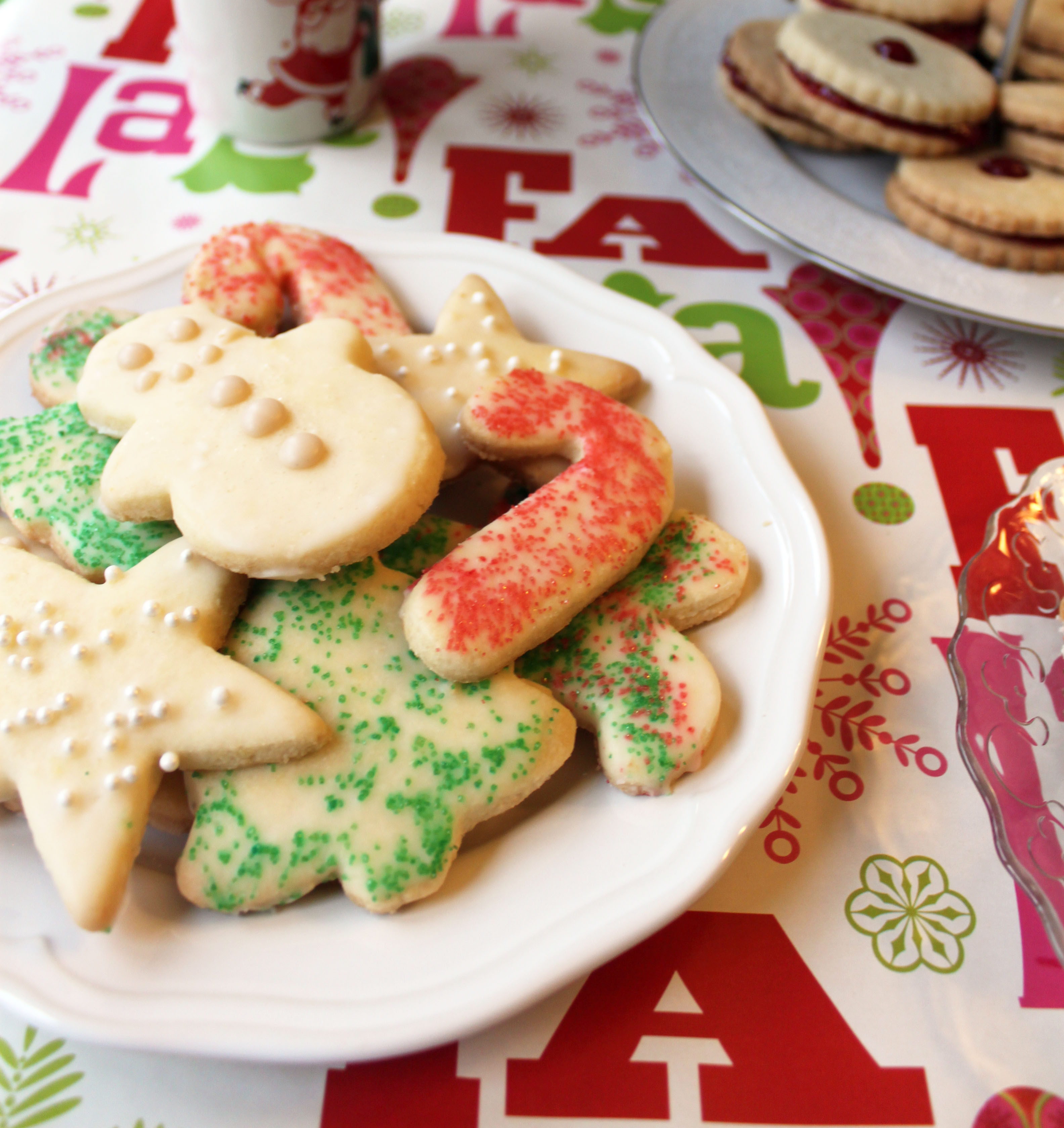 Egg Free Sugar Cookies  Allergen Free Lemon Sugar Cookies Gluten Free Dairy Free