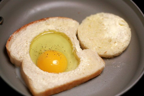 Egg In Bread  Our Top 5 Breakfast the Go ideas Caravanning with Kids