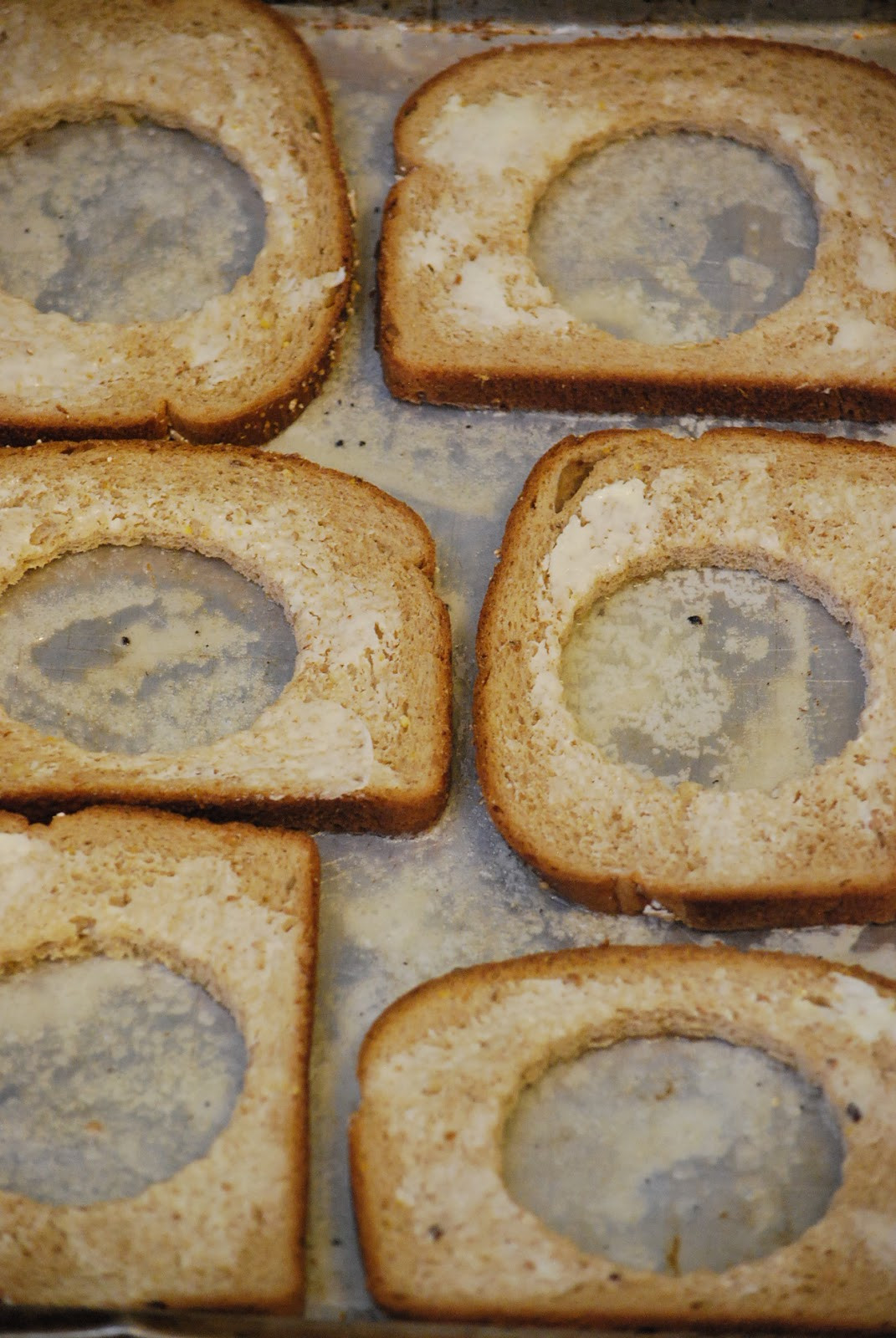 Egg In Bread  My story in recipes Eggs in a hole