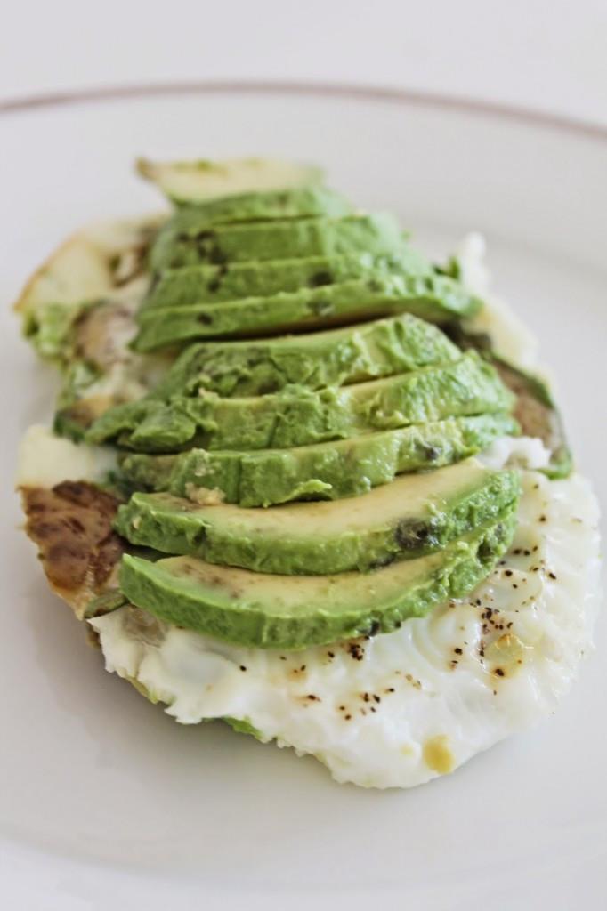 Egg Whites Breakfast Recipes  Easy Healthy Breakfast Egg White Avocado