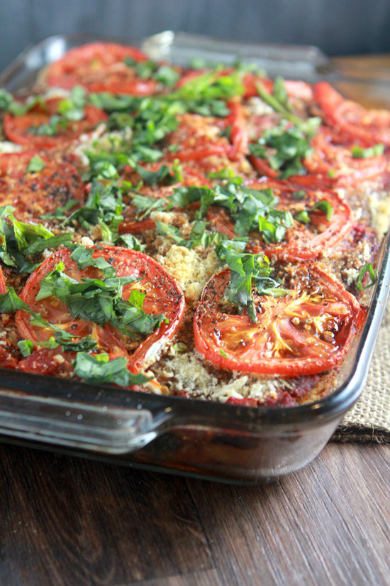 Eggplant Lasagna Vegan  Vegan Rustic Eggplant Spinach Lasagna – What2Cook