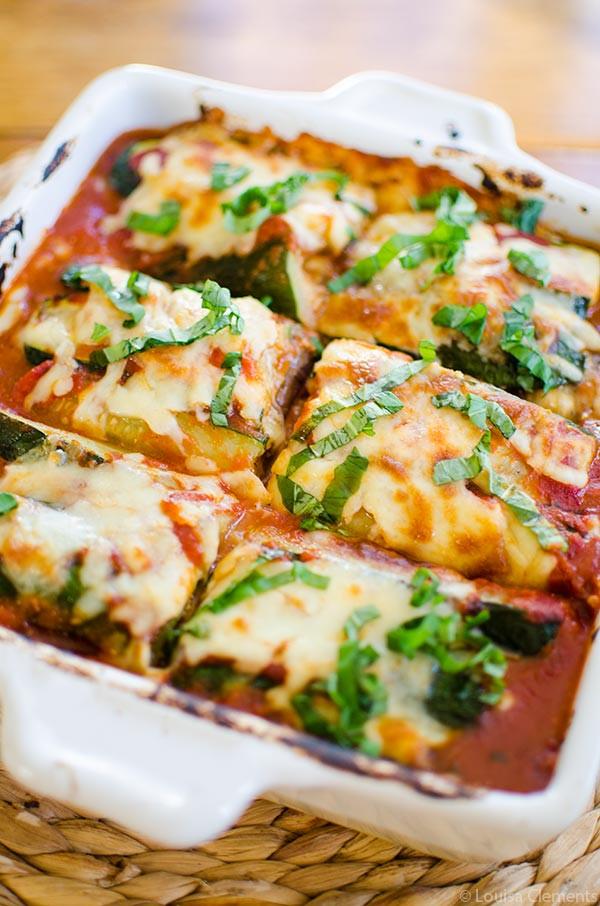 Eggplant Lasagna Vegan  Ve arian Zucchini and Eggplant Lasagna — Living Lou