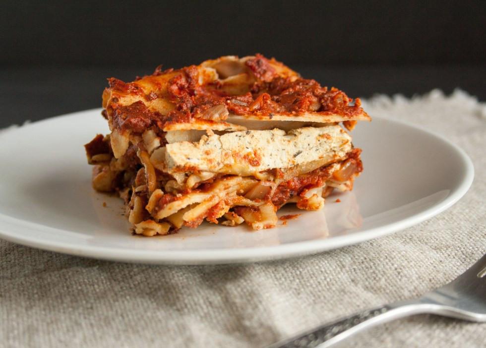 Eggplant Lasagna Vegan  Eggplant Lasagna Create Mindfully