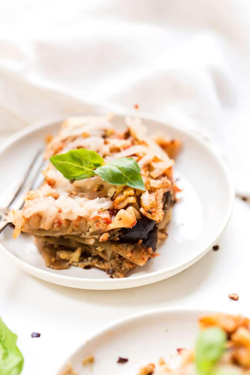 Eggplant Lasagna Vegan  Gluten Free & Vegan Eggplant Lasagna Simply Quinoa