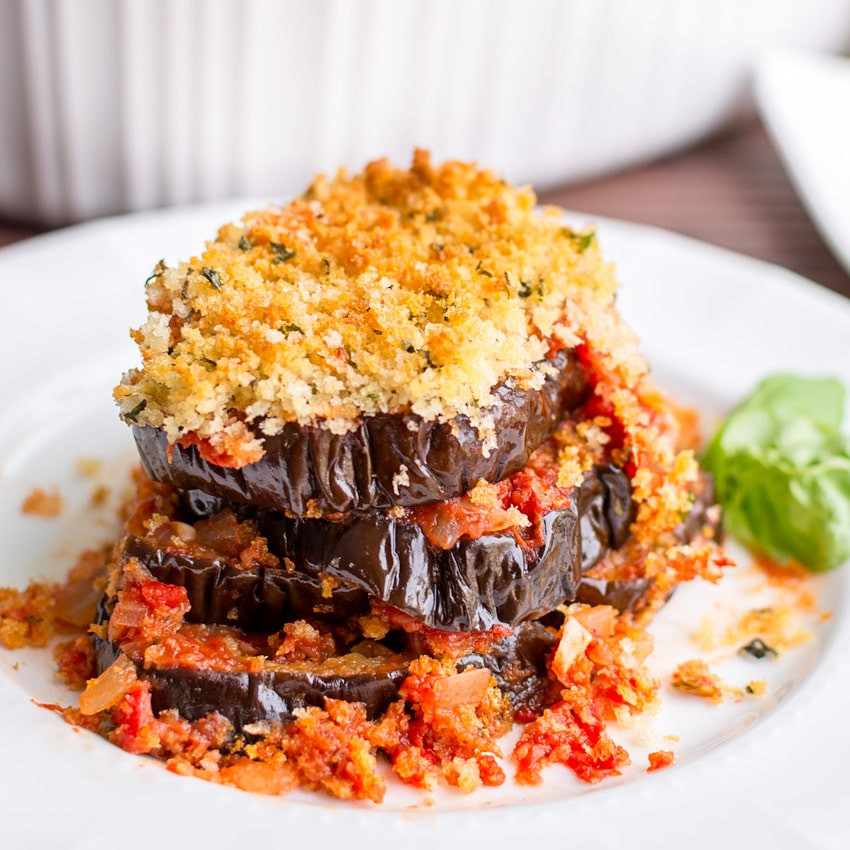 Eggplant Parmesan Healthy  How to Make This Healthy Eggplant Parmesan Recipe