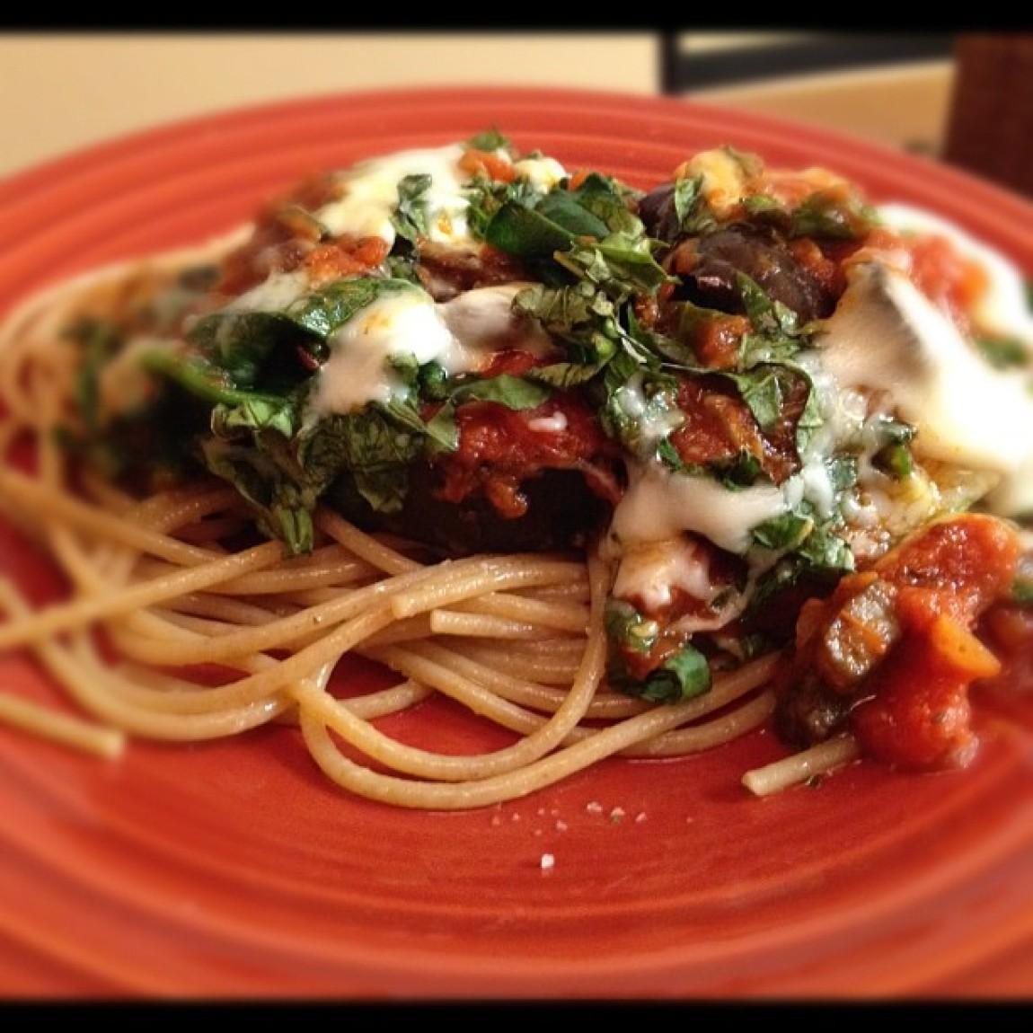 Eggplant Parmesan Healthy  Healthy Eggplant Parmesan Recipe