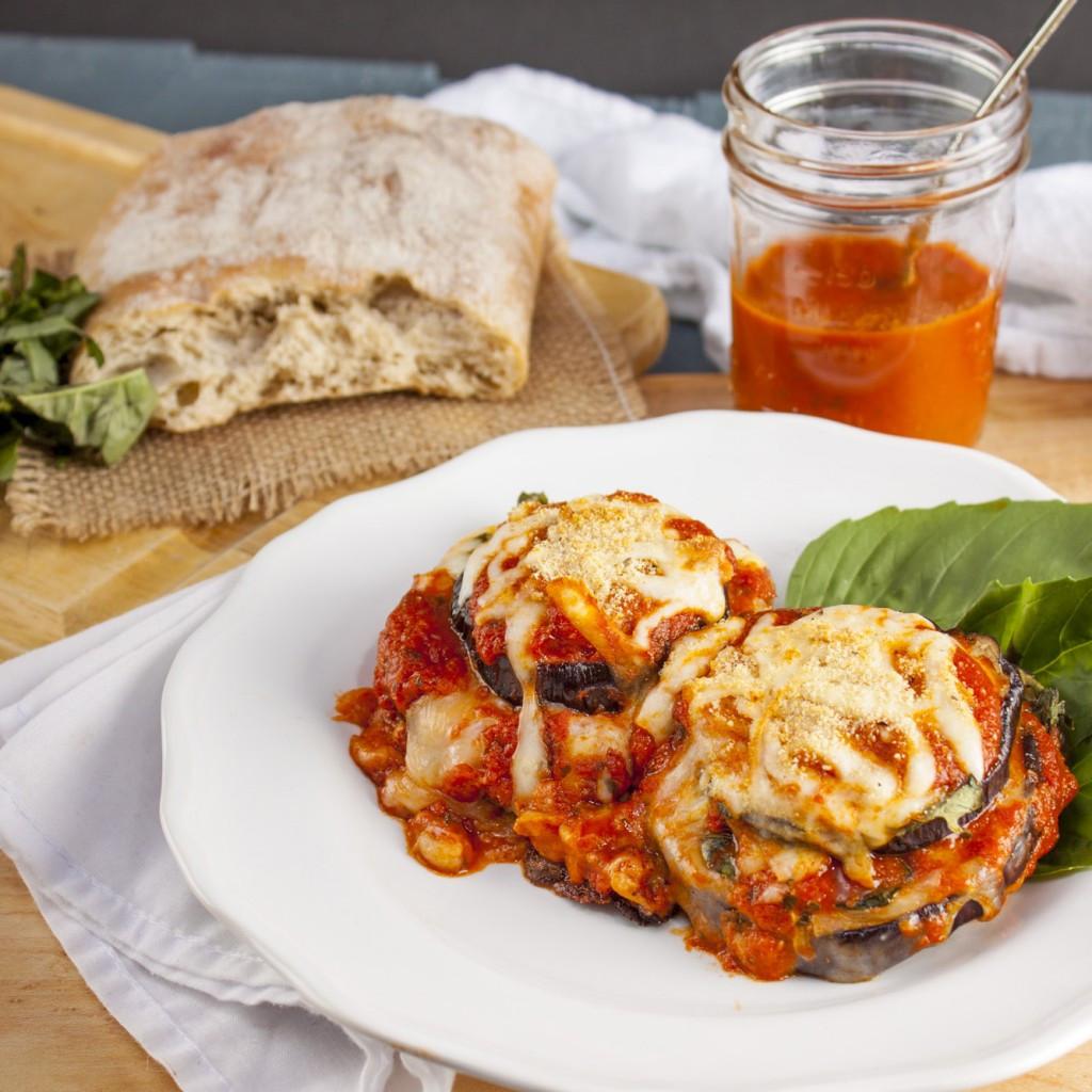 Eggplant Parmesan Healthy  healthy eggplant parmesan recipe baked