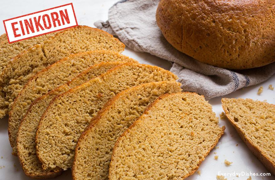 Einkorn Bread Recipe  Easy Whole Wheat Bread Recipe Made with Einkorn Flour