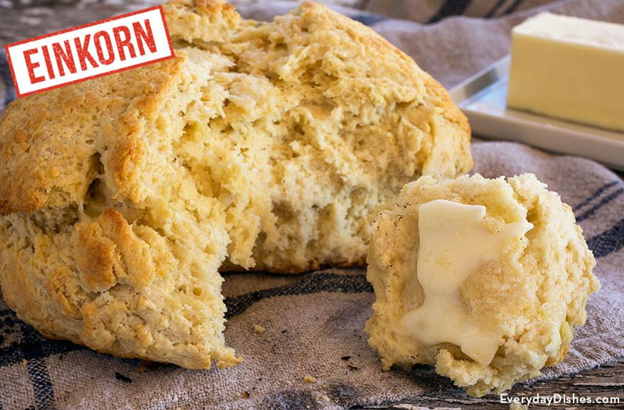 Einkorn Bread Recipe  Irish Soda Bread Recipe Prepared with Einkorn Flour