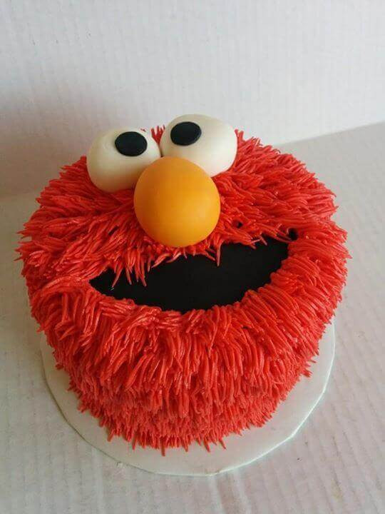 Elmo Birthday Cake  21 Fabulous Elmo Birthday Party Ideas Spaceships and