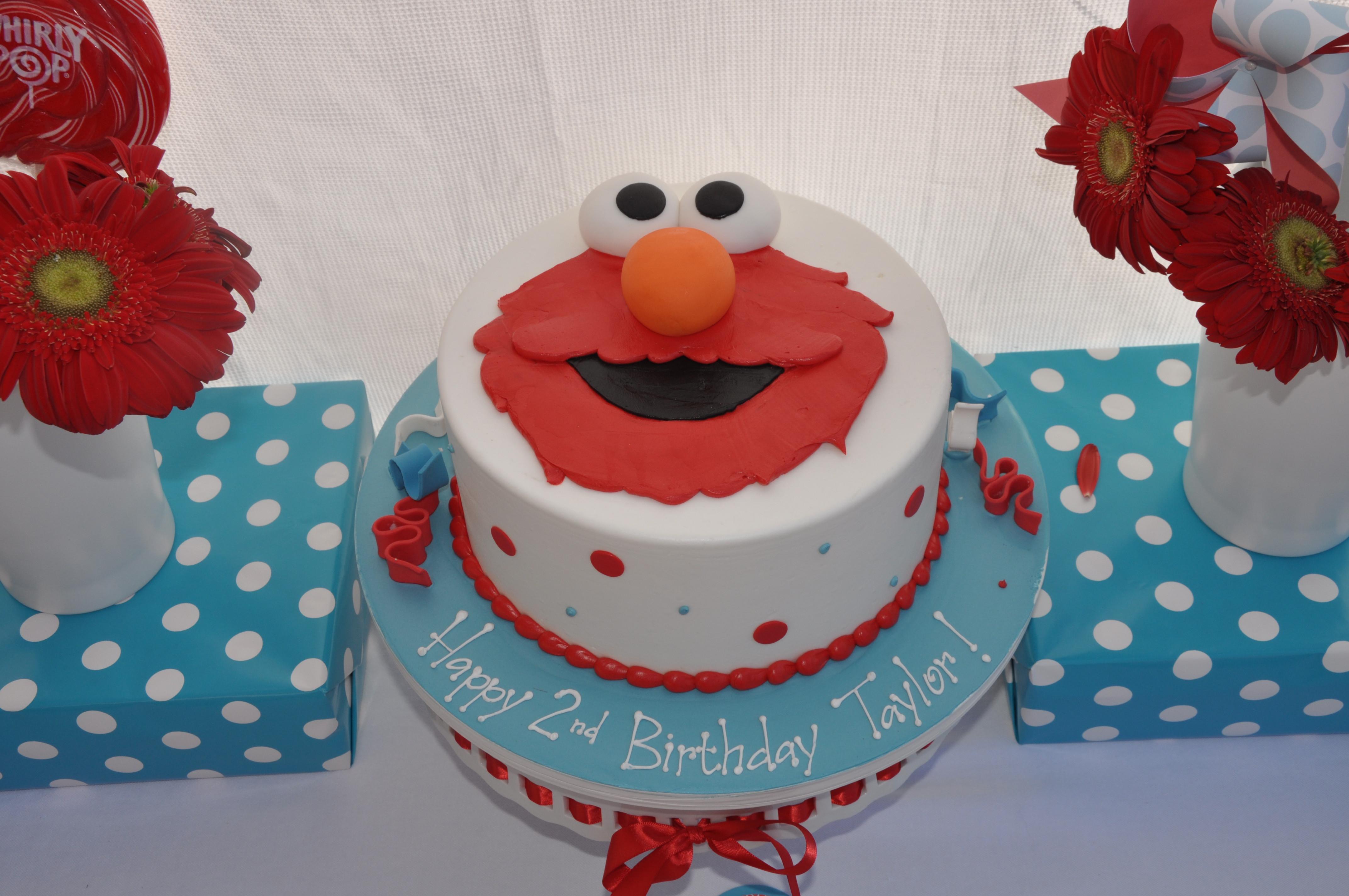 Elmo Birthday Cake  Elmo – Birthday Party Taylor's World