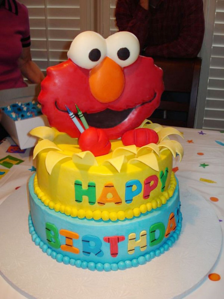 Elmo Birthday Cake  Elmo Birthday Cakes Design 2 Birthday Cake Cake Ideas by