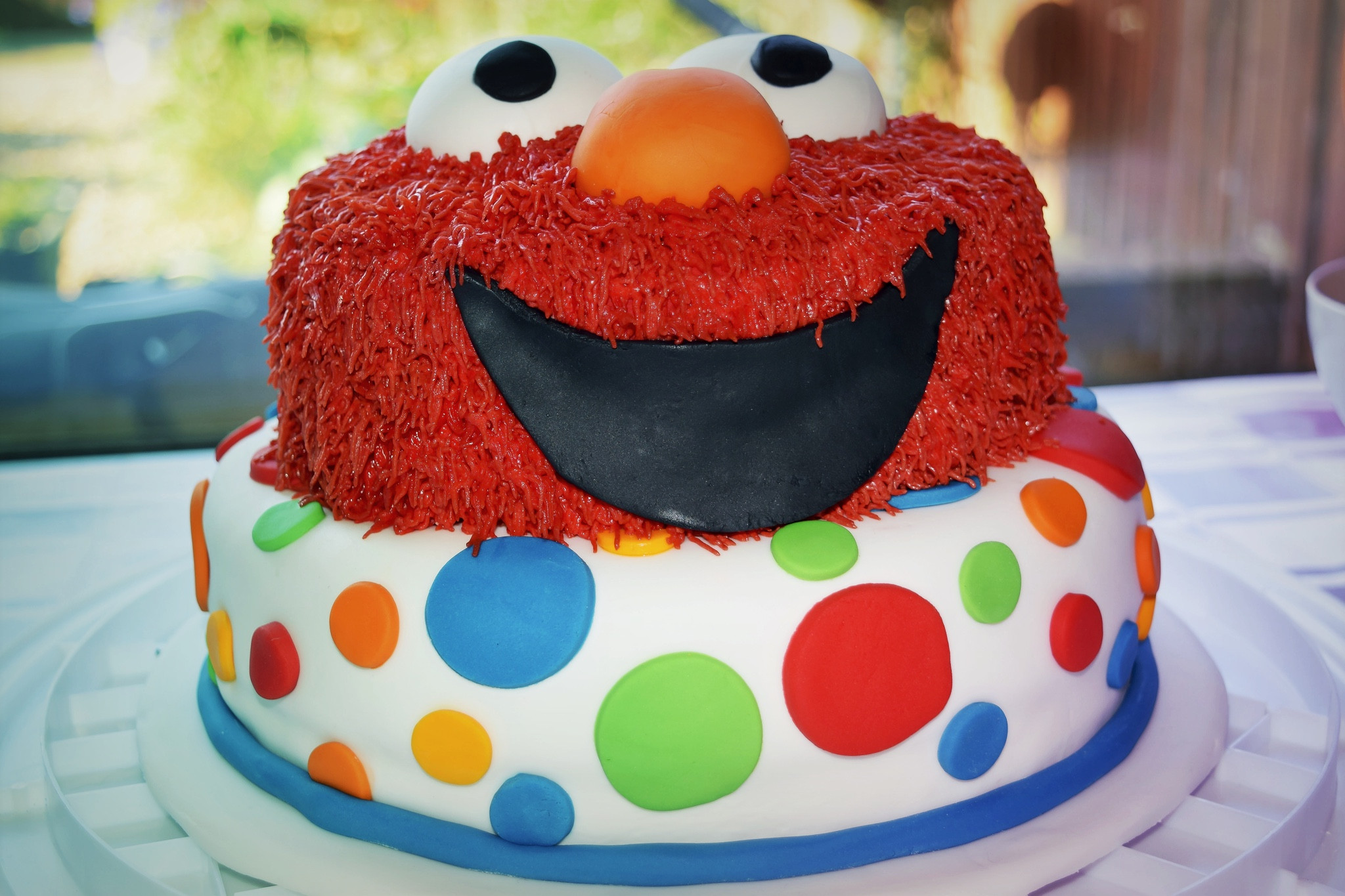 Elmo Birthday Cake  Making an Elmo birthday cake Glasgow With Kids
