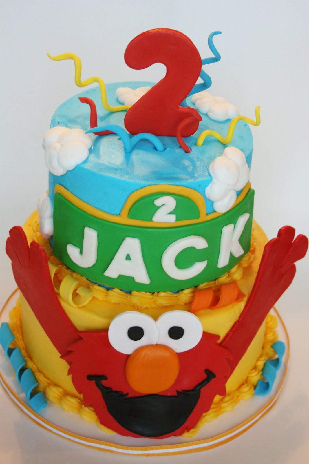 Elmo Birthday Cake  And Everything Sweet Elmo