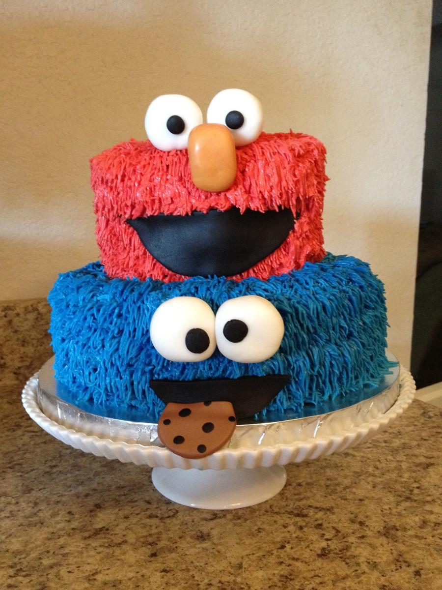 Elmo Birthday Cake  Sesame Street Cake CakeCentral