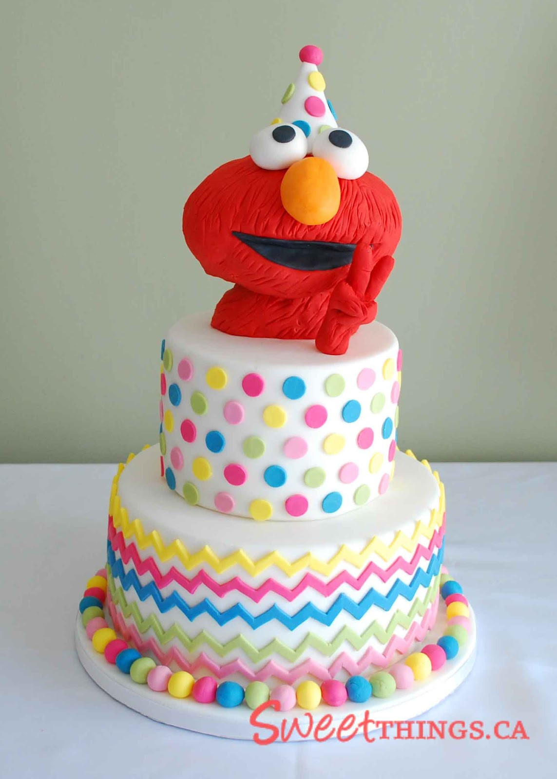 Elmo Birthday Cake  SweetThings 2nd Birthday Cake Elmo Cake