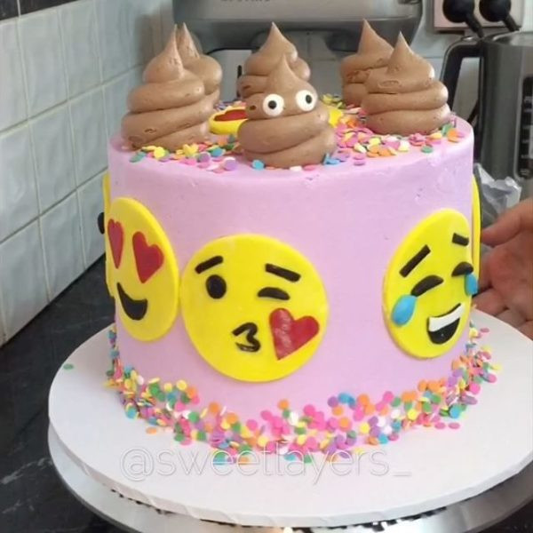 Emoji Birthday Cake  Birthday cake Emoji images pictures and clipart