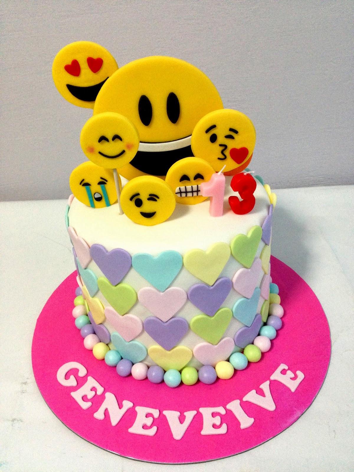 Emoji Birthday Cake  Oven Creations