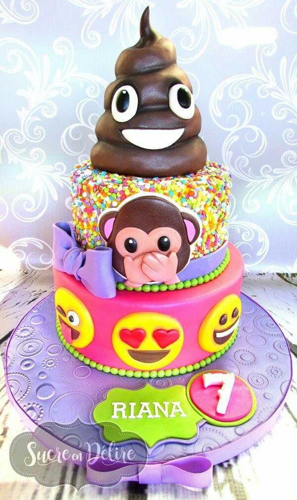 Emoji Birthday Cake  11 OMG Emoji Cake Ideas That Will Get The Thumbs Up