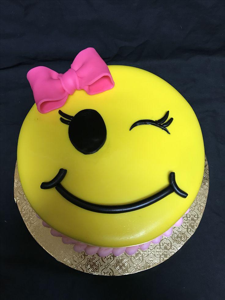 Emoji Birthday Cake  Emoji birthday cake Brenda s Cake Designs