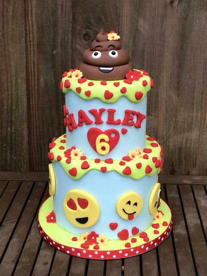 Emoji Birthday Cake  17 Best images about Emoji Cakes on Pinterest