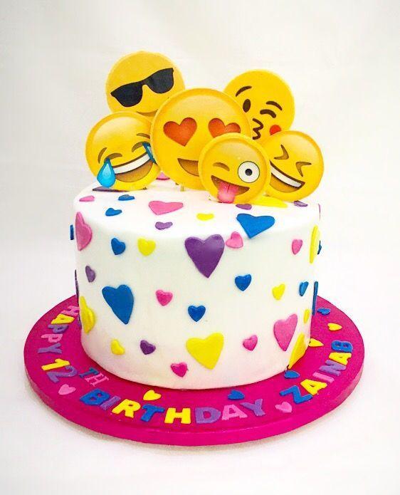 Emoji Birthday Cake  Happy Birthday Cake Emoji For Whatsapp