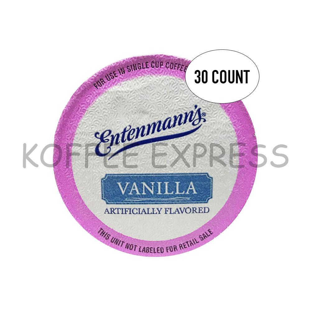 Entenmann'S Coffee Cake  ENTENMANN S COFFEE K CUPS FOR KEURIG 3 BOX S 30 CT VANILLA