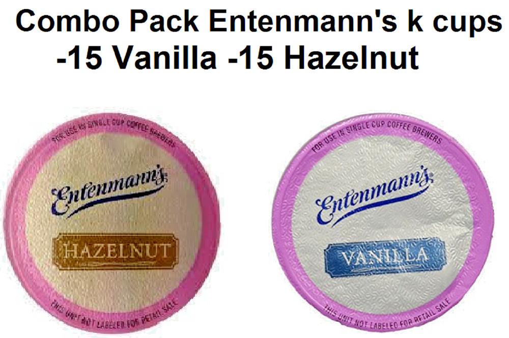 Entenmann'S Coffee Cake  ENTENMANN S COFFEE K CUPS 4 BOX S 2 HAZELNUT 2 VANILLA