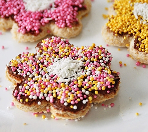 Fairy Bread Recipe  Fairy Bread Fuss Free Cooking