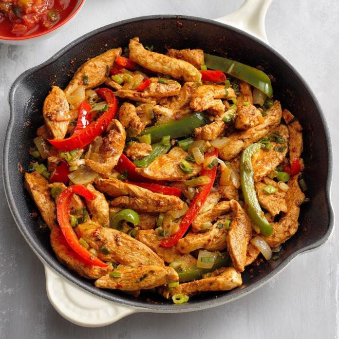 Fajitas Recipe Chicken  Flavorful Chicken Fajitas Recipe