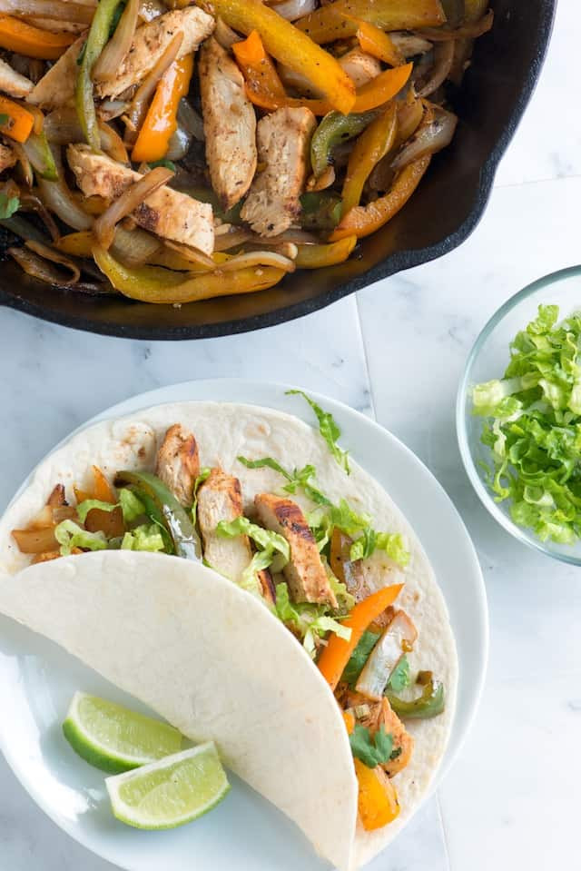 Fajitas Recipe Chicken  Crazy Good Chicken Fajitas Recipe
