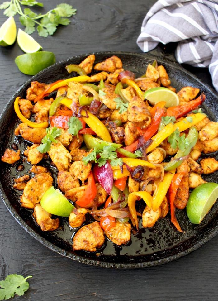 Fajitas Recipe Chicken  Easy Chicken Fajitas Recipe with Mango Habanero Salsa