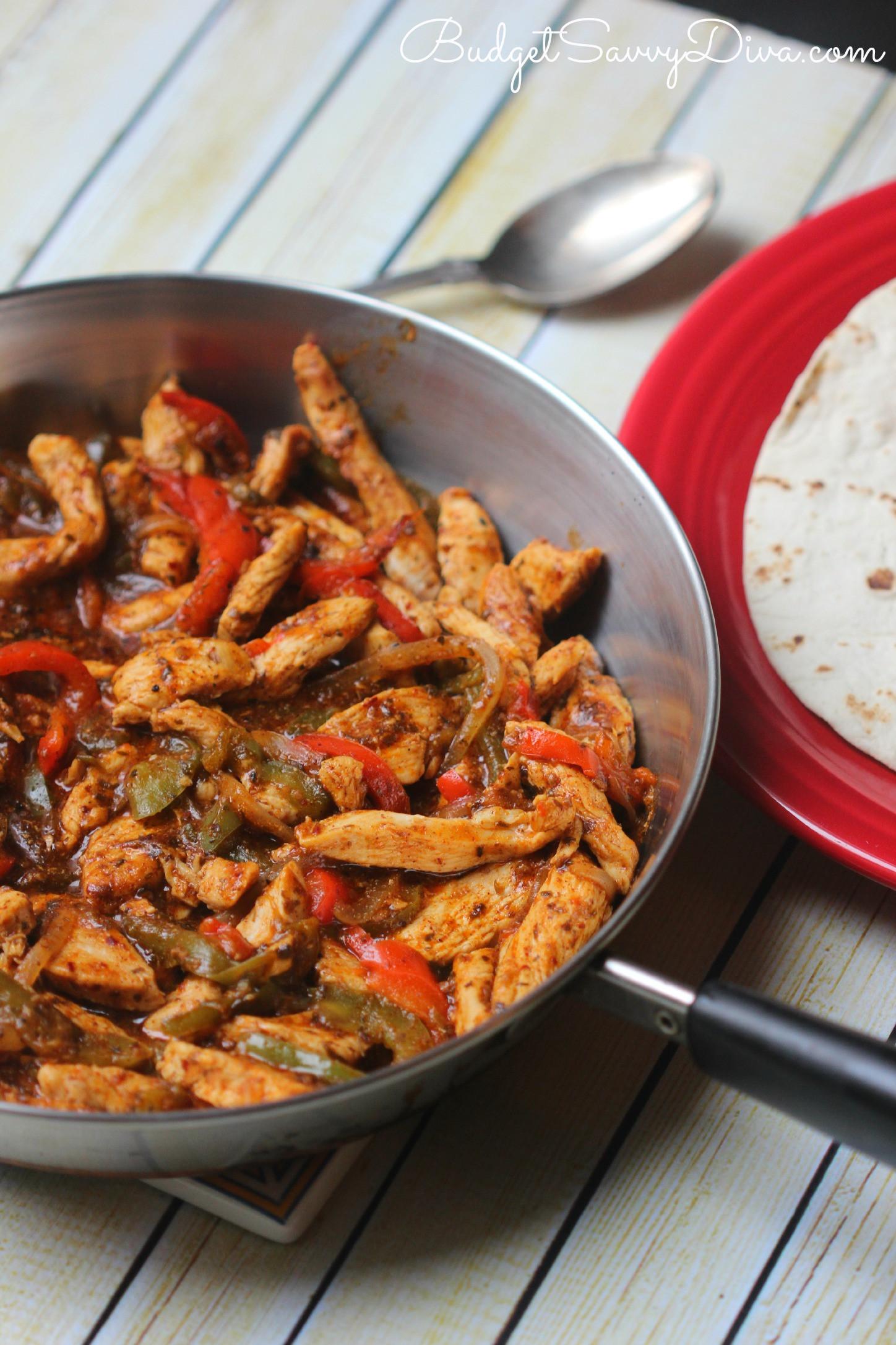 Fajitas Recipe Chicken  Chicken Fajita Recipe