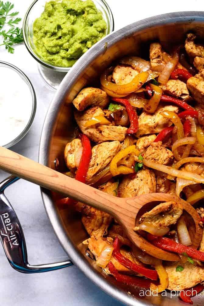 Fajitas Recipe Chicken  Chicken Fajita Recipe Add a Pinch