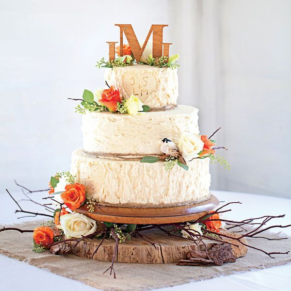 Fall Wedding Cakes  20 Rustic Country Wedding Cakes for The Perfect Fall Wedding