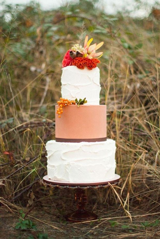 Fall Wedding Cakes  Autumn Wedding Ideas & Wedding Inspiration