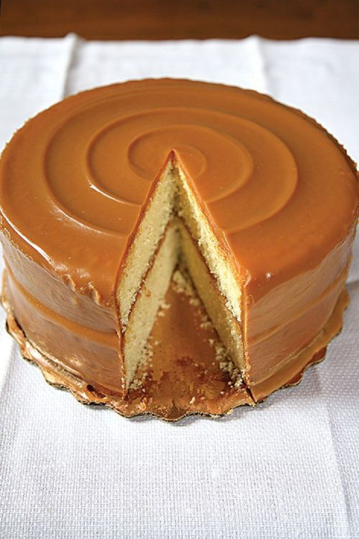 Famous Chicago Desserts  Top 10 Various Desserts with Caramel Icing Top Inspired