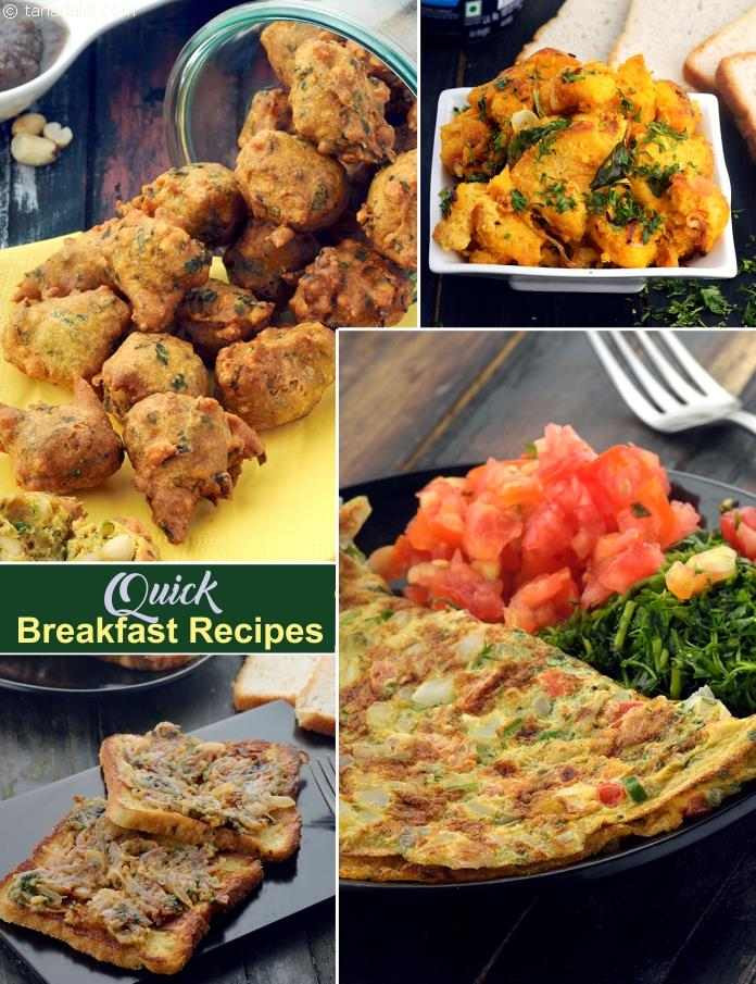 Fast Breakfast Recipes  150 Quick Breakfast Recipes Indian Veg Quick Breakfast